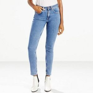 Levi's 721 Vintage High Rise Skinny Jeans